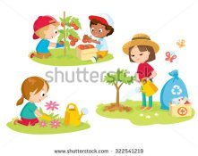 stock-vector-children-volunteering-in-the-farm-garden-322541219